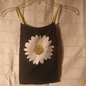 OP tube top with straps